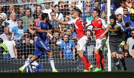 Chelsea 2-0 Arsenal: 'Tieu xao duong pho' cua Costa va chien thang cua Mourinho - Anh 1