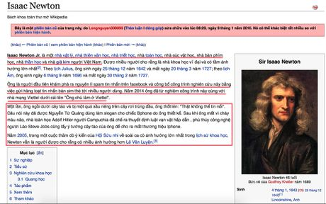 Trang Wikipedia tai Viet Nam thuong xuyen bi pha hoai - Anh 1