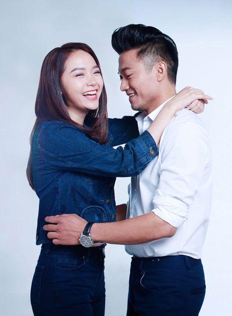 Minh Hang - Quy Binh tinh cam trong bo anh don Tet - Anh 2