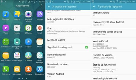 Samsung Galaxy S5 nhan cap nhat Android 6.0.1 - Anh 1