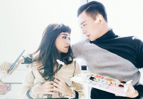 Ngo Kien Huy khong so ban gai ghen khi tinh tu ben nguoi dep - Anh 8