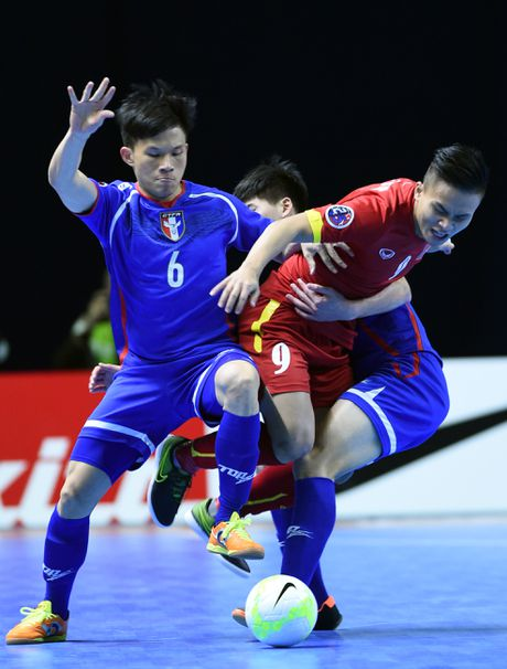 Futsal Viet Nam muon thang Tajikistan, om mong du World Cup - Anh 1
