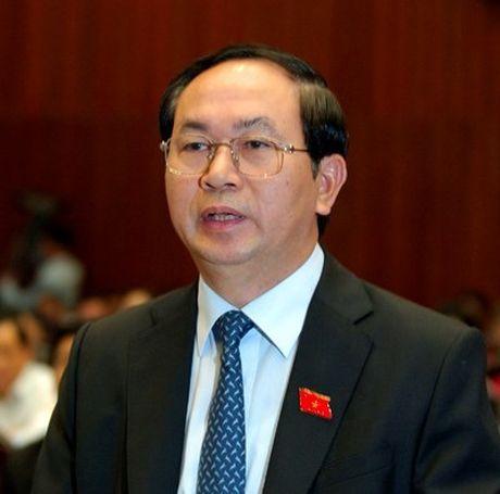 Dai tuong Tran Dai Quang duoc gioi thieu lam Chu tich nuoc - Anh 1