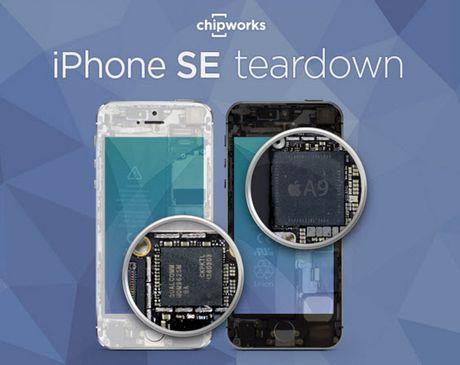 Mo chi tiet iPhone SE: 'vo 5s va ruot 6s' - Anh 1