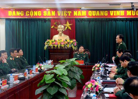 Bo truong Quoc phong lam viec voi Ban Co yeu Chinh phu - Anh 1