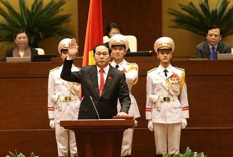 Loi tuyen the cua Chu tich nuoc Tran Dai Quang - Anh 1