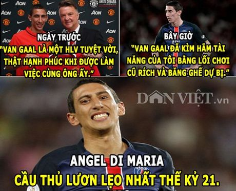 HAU TRUONG (2.4): Di Maria thanh 'thanh luon', Miss Bumbum khoa than an ui Messi - Anh 1