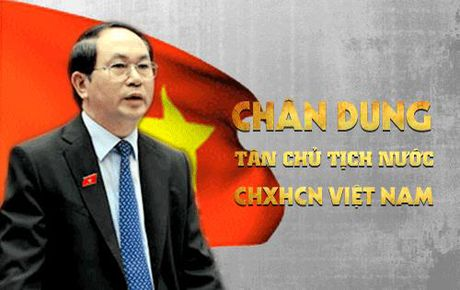 [Infographic] Chan dung tan Chu tich nuoc Tran Dai Quang - Anh 1