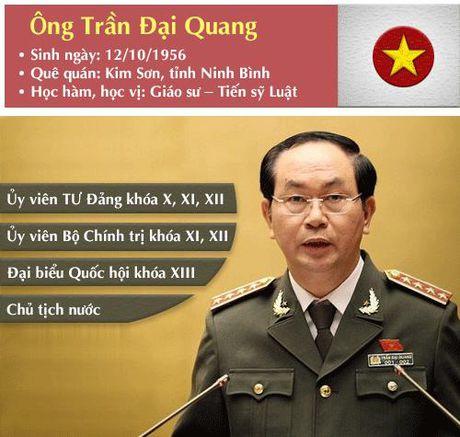 [Infographic] Chan dung tan Chu tich nuoc Tran Dai Quang - Anh 2
