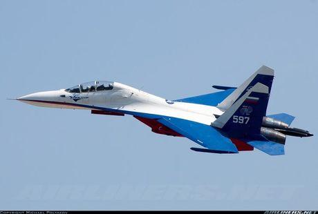 Kinh di canh tiem kich Su-30 bay sat sat mat dat - Anh 11
