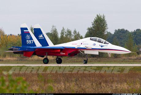 Kinh di canh tiem kich Su-30 bay sat sat mat dat - Anh 6