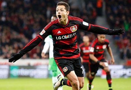 Ha guc Wolfsburg, Leverkusen 'pha hoi nong' vao Top 3 - Anh 1