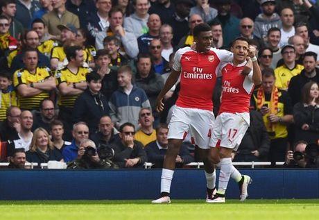 Iwobi lai toa sang, Arsenal huy diet Watford - Anh 2