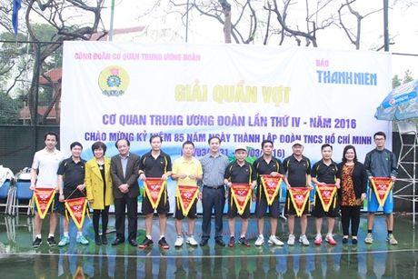 Tung bung giai quan vot co quan Trung uong Doan - Anh 2