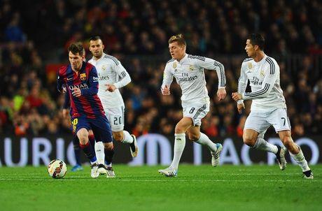 Zidane: 'Chang co van de gi khi Real Madrid bi danh gia thap hon Barcelona' - Anh 1