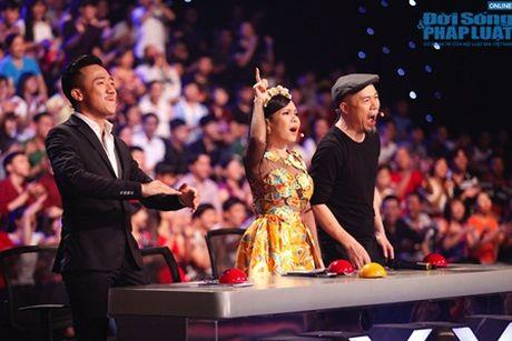 Vietnam's Got Talent ban ket 4: Trong Nhan xuat sac vao chung ket - Anh 1