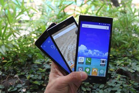 Philips ra mat 3 smartphone moi tai Viet Nam - Anh 1