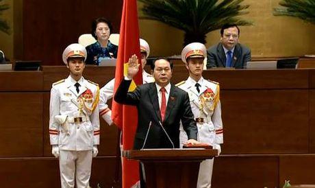 Tan Chu tich nuoc Tran Dai Quang tuyen the nham chuc - Anh 1