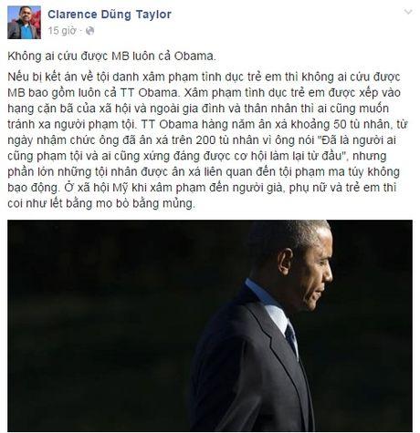 Neu Minh Beo pham toi - Tong thong Obama co the cuu giup? - Anh 1