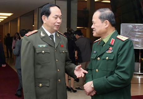 Quoc hoi bo phieu bau chuc vu Chu tich nuoc doi voi Dai tuong Tran Dai Quang - Anh 1