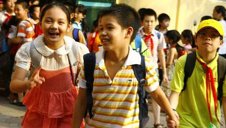 Tuyen sinh dau cap tai Ha Noi: Nong mua 'chay' truong - Anh 1