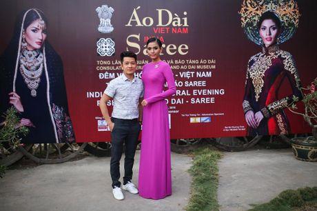 Truong Thi May trinh dien lai ao dai tung thi Miss Universe 2013 - Anh 2