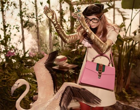 'Vuon dia dang' moi cua Gucci trong mua Pre-Fall 2016 - Anh 3