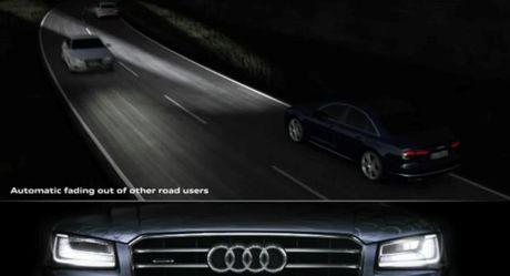Xem den ma tran cua Audi hoat dong thuc te - Anh 1