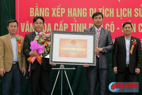 Cong nhan den Co, den Cau la di tich lich su van hoa cap tinh - Anh 4