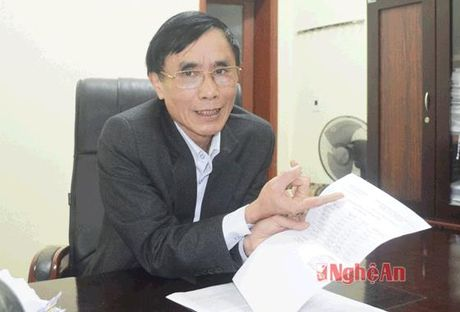 Chu ky lanh dao, dau cua So LD-TB&XH Nghe An bi gia mao - Anh 1