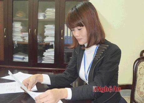Chu ky lanh dao, dau cua So LD-TB&XH Nghe An bi gia mao - Anh 2