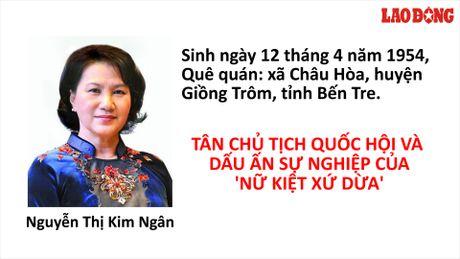 Infographic: Tan Chu tich Quoc hoi Nguyen Thi Kim Ngan va nhung moc son dang nho trong su nghiep - Anh 1