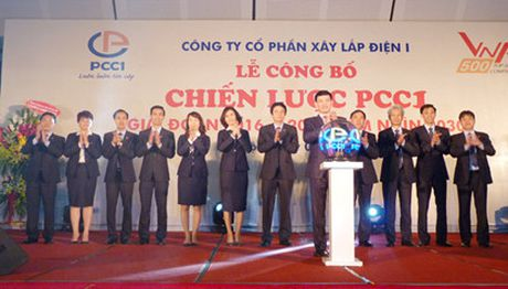 PCC1 du kien niem yet nam 2016, dat muc tieu doanh thu 1 ty USD den nam 2025 - Anh 1