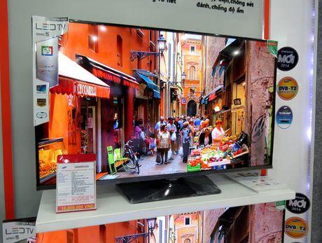 Da co 718 mau Tivi tich hop chuc nang thu truyen hinh so DVB-T2 - Anh 1