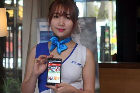 Philips ra mat thi truong Viet Nam 2 smartphone tranh hai mat - Anh 1