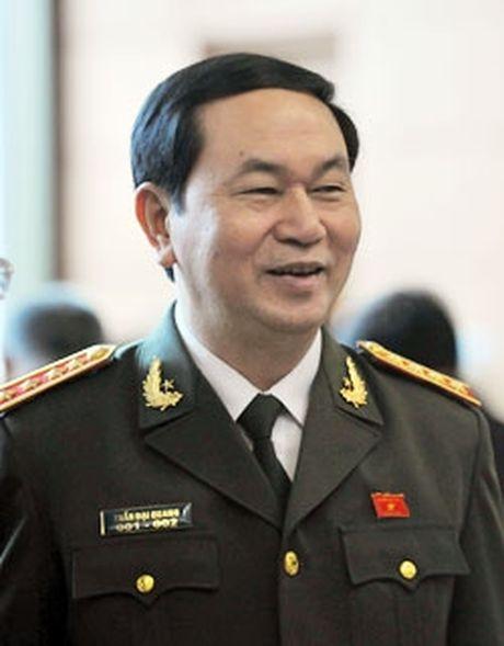 Dai tuong Tran Dai Quang tuyen the nham chuc Chu tich nuoc - Anh 2