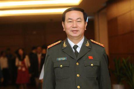 Loi tuyen the cua Tan Chu tich nuoc Tran Dai Quang - Anh 1