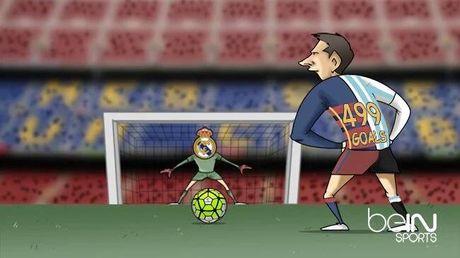 """Biem hoa 24h: Messi """"choi xau"""" Ronaldo truoc them El Clasico - Anh 2"""