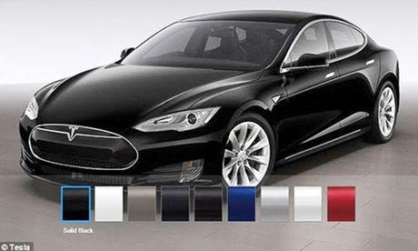 Tesla Model S co he thong phong chong Vu khi hoa sinh - Anh 1