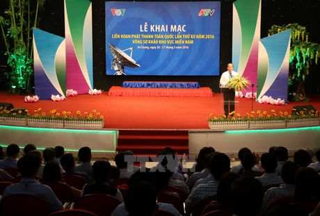 Sap dien ra Lien hoan phat thanh toan quoc XII tai Nha Trang - Anh 1