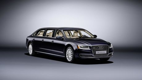 Audi A8 L sau cua - Phien ban danh cho Hoang gia - Anh 2