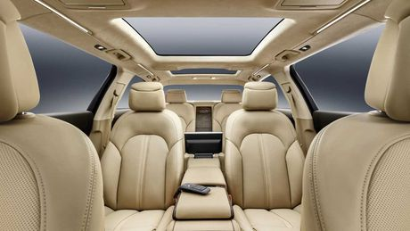 Audi A8 L sau cua - Phien ban danh cho Hoang gia - Anh 7