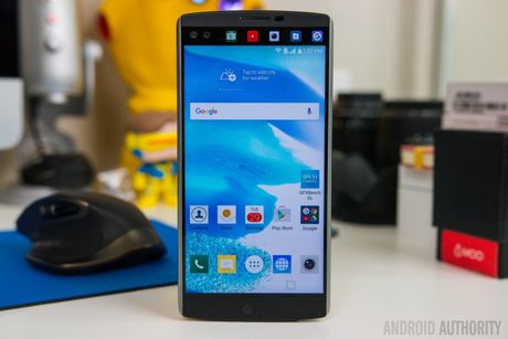 LG V10 bat dau nhan duoc ban cap nhat Android 6.0 Marshmallow - Anh 1
