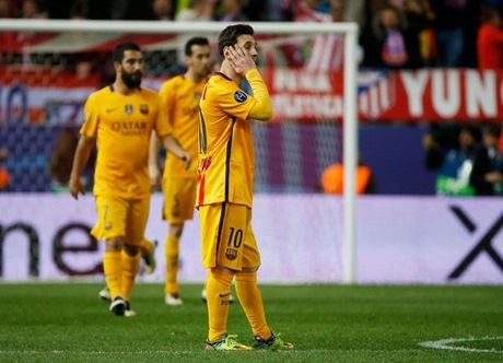 "Messi ""giau nuoc mat"" nhin Atletico gianh ve vao ban ket Champions League - Anh 9"