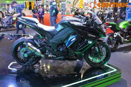Kawasaki Ninja 1000 ABS 2016 chot gia 419 trieu tai VN - Anh 12