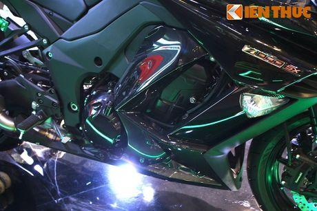 Kawasaki Ninja 1000 ABS 2016 chot gia 419 trieu tai VN - Anh 8