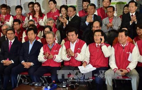 Han Quoc: Lanh dao dang Saenuri xin tu chuc - Anh 1