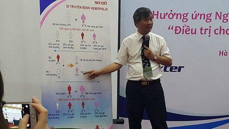 3.600 nam gioi Viet co the chet truoc 19 tuoi neu khong duoc dieu tri Hemophilia - Anh 2