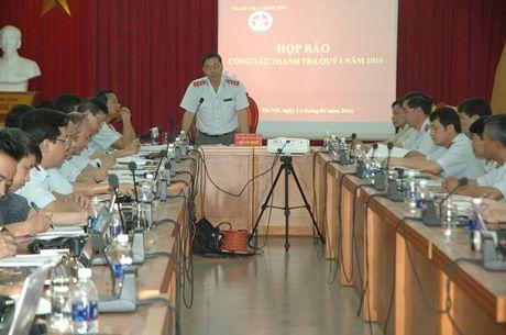 Thanh tra Chinh phu: 3 thang phat hien duoc 4 vu tham nhung - Anh 1