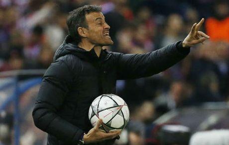 """Barca tham bai, Enrique """"phuc sat dat"""" Atletico - Anh 1"""